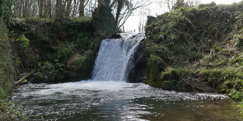 Cascade du moulin à Hermanville - Photo Gérard Durand